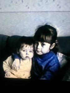 Weren't we the cutest?